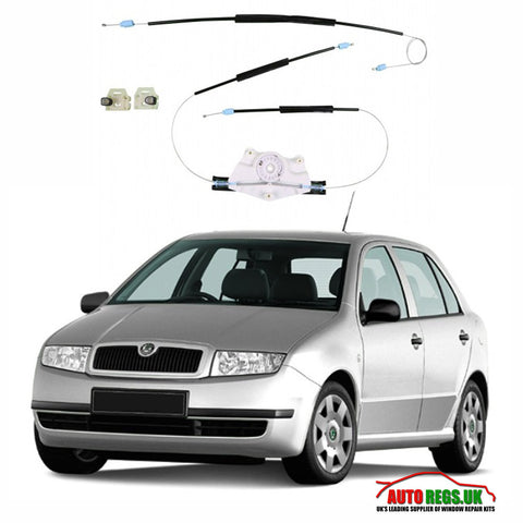 Skoda Fabia Window Regulator Repair Kit 1999 - 2007