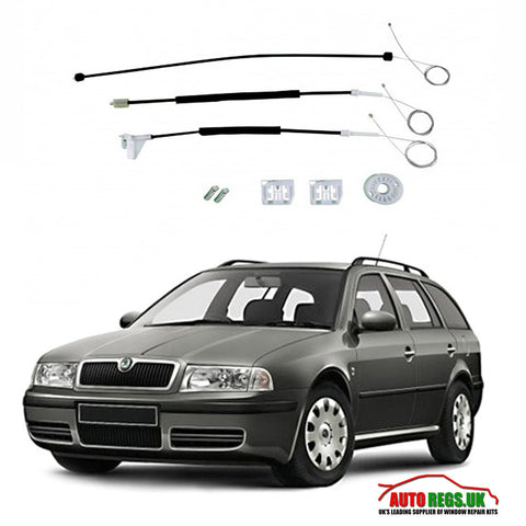 Skoda Octavia Window Regulator Repair Kit 2004 - 2012