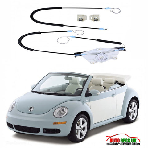 Volkswagen Beetle Cabriolet Window Regulator Repair Kit 2002 - 2010