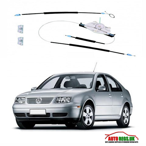 Volkswagen Bora Electric Window Regulator Repair Kit 1996 - 2004