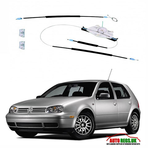 Volkswagen Golf Mk4 Window Regulator Repair Kit 1997 - 2004
