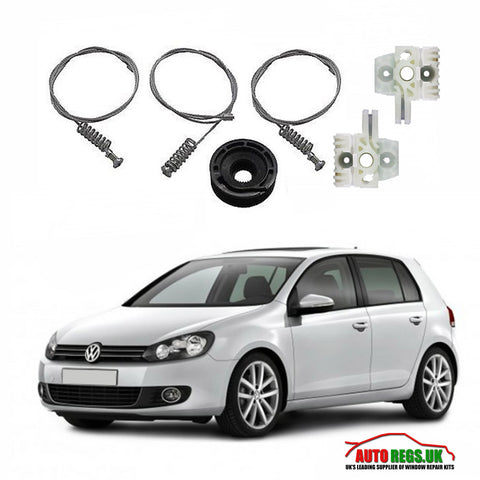 Volkswagen Golf Mk6 Window Regulator Repair Kit 2008 - 2014