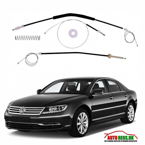 Volkswagen Phaeton Electric Window Regulator Repair Kit 2005 - 2015