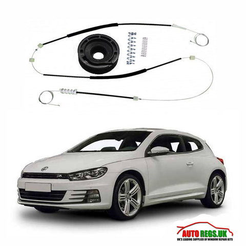 Volkswagen Scirocco Window Regulator Repair Kit 2008 - 2017