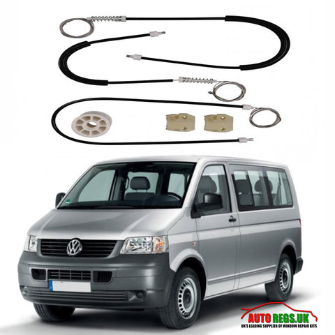 Volkswagen T5 Transporter Electric Window Regulator Repair Kit 2003 - 2015