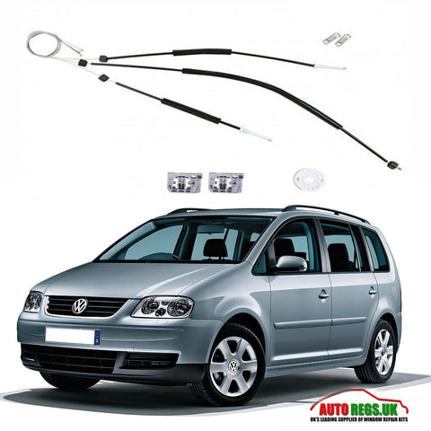 Volkswagen Touran Electric Window Regulator Repair Kit 2003 - 2009