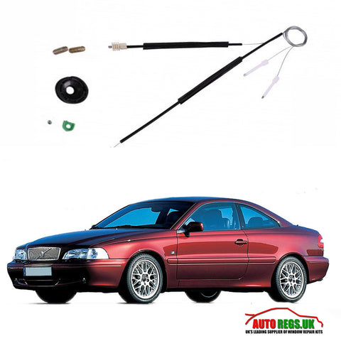 Volvo C70 Coupe Window Regulator Repair Kit 1996 - 2005