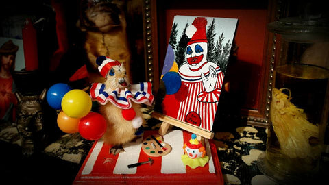 JOHN WAYNE GACY/TAXIDERMY DUCKLING(SOLD)