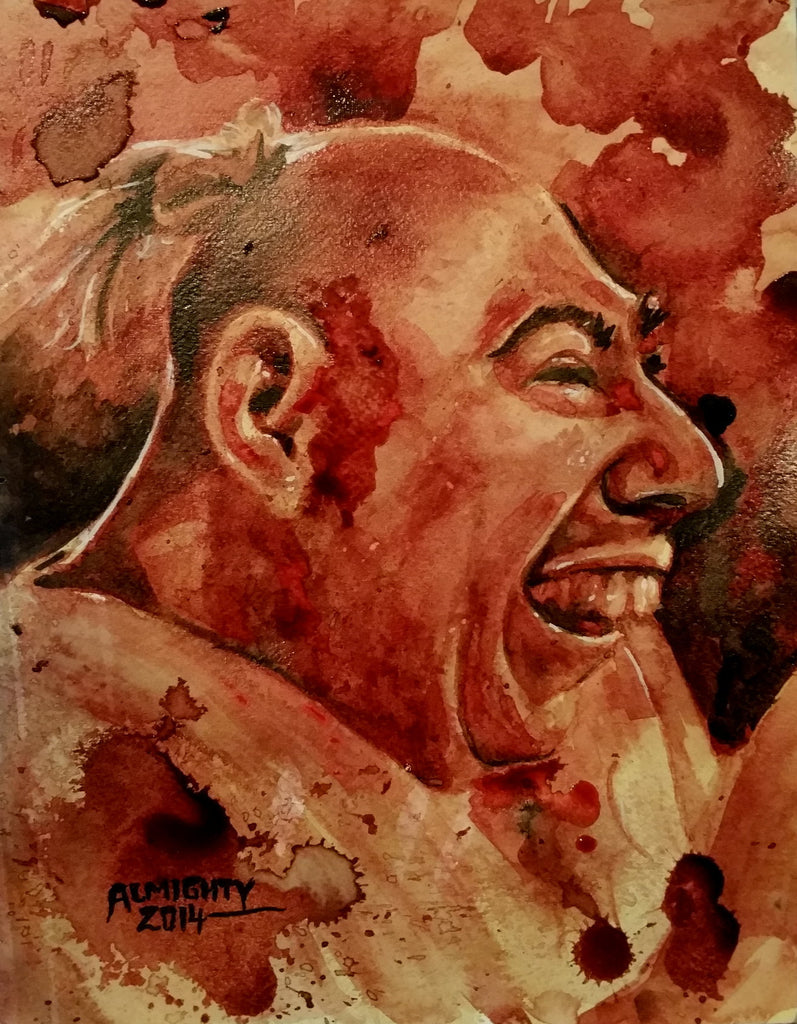"SCHLITZIE ""pinhead"" , Limited edition print (50) Signed/numbered"