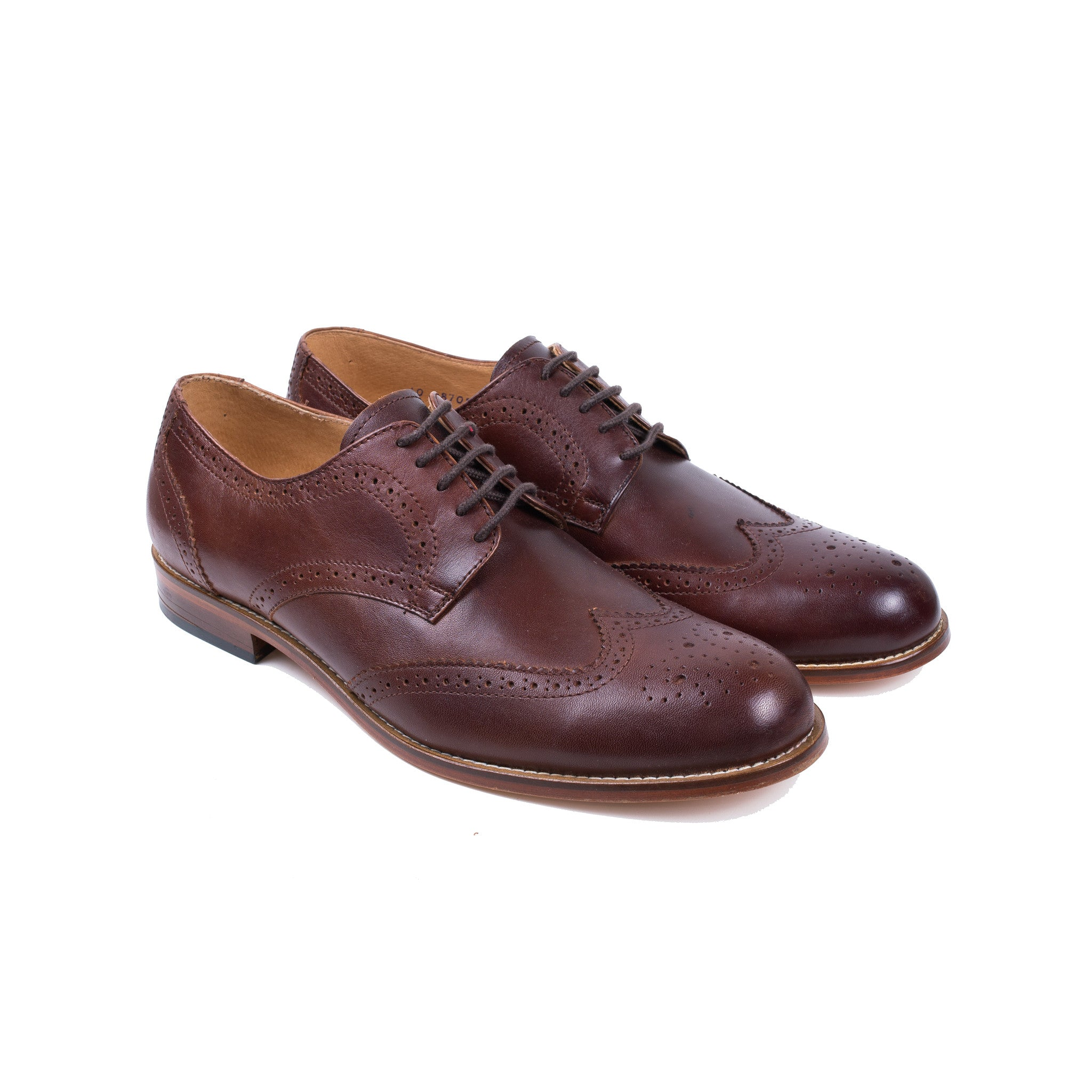 Wingtip Shoe in Chocolate