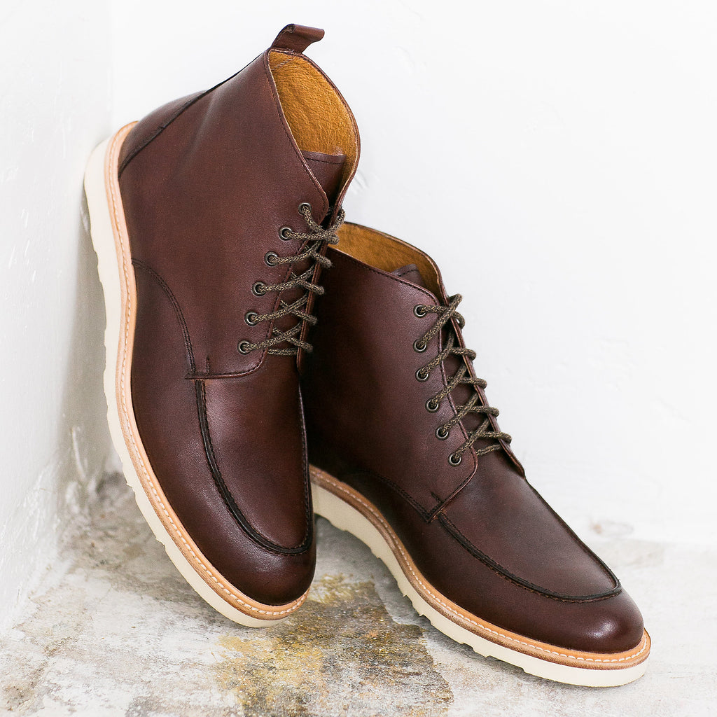 Moc Toe Boot in Chocolate