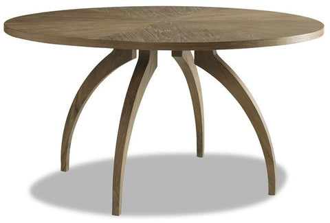 Atherton Teak Round Dining Table