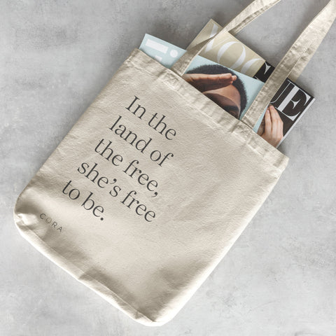 Cora x Women's March Tote