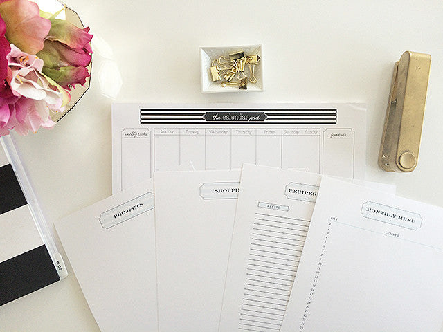 Organizing Printable Collection {Digital Files}