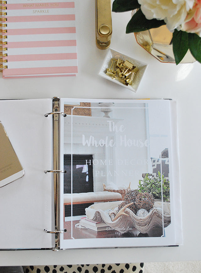 Whole House Home Decor Planner {Printable}