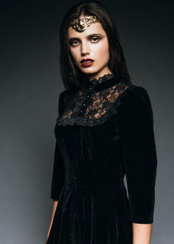 Halloween gothic dress