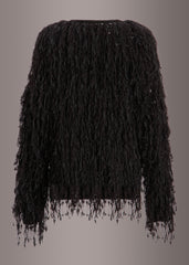 Womens Fringe Cardigan