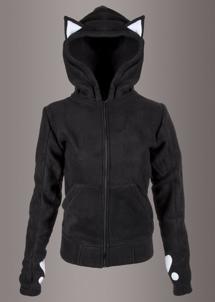 Dark Kitty Full Zip Hoodie