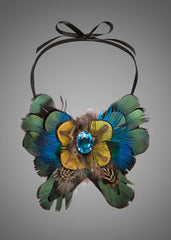 Exotic Bird of Paradise Necklace