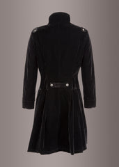 black velvet coat womens
