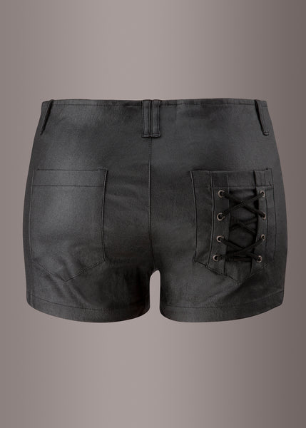 Black rocker shorts