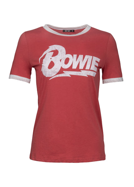 David Bowie ringer tee