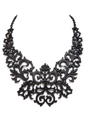 black gothic necklace