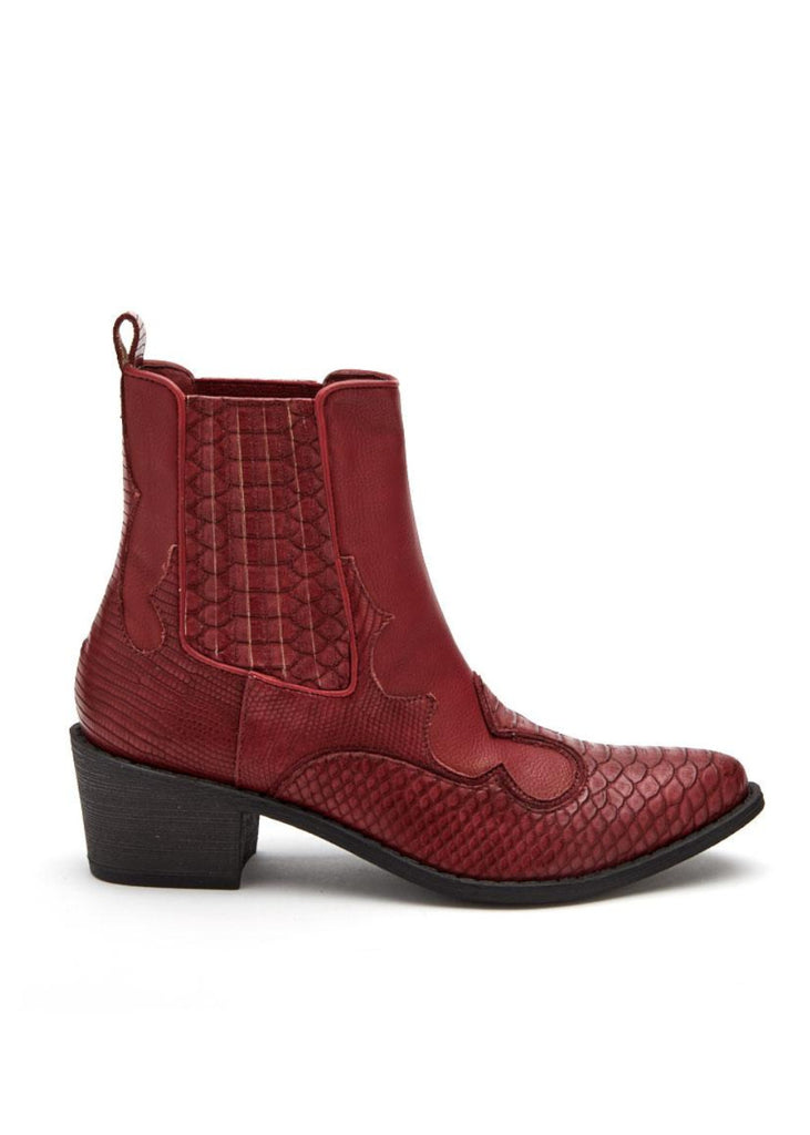 red cavalier western boots