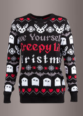 goth Christmas sweater