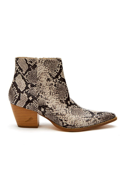 Matisse GOING WEST Snake Animal Print Ankle Boot