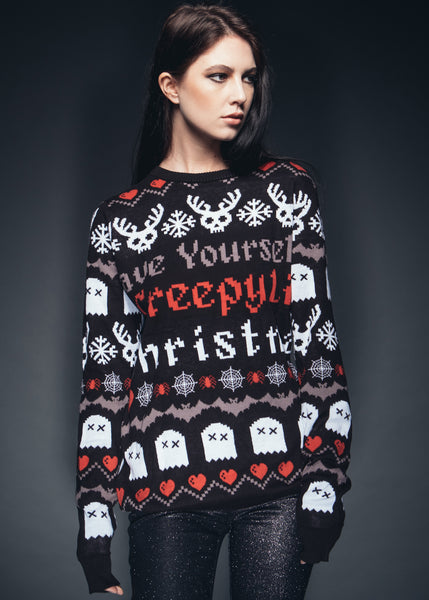 Have Yourself Creepy Lil Christmas Ugly Xmas Sweater