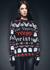 Skull Christmas sweater
