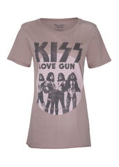 KISS love gun band tee
