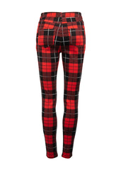 Tartan punk rock pants