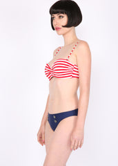 Ahoy Matey Nautical Two-Piece Swimsuit