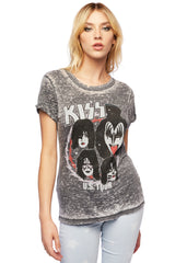 kiss us tour band shirt