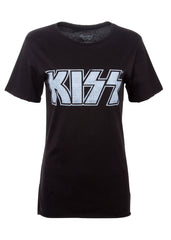 black KISS shirt