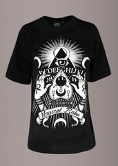 occult goth tee
