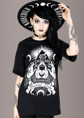 occult gothic t shirt