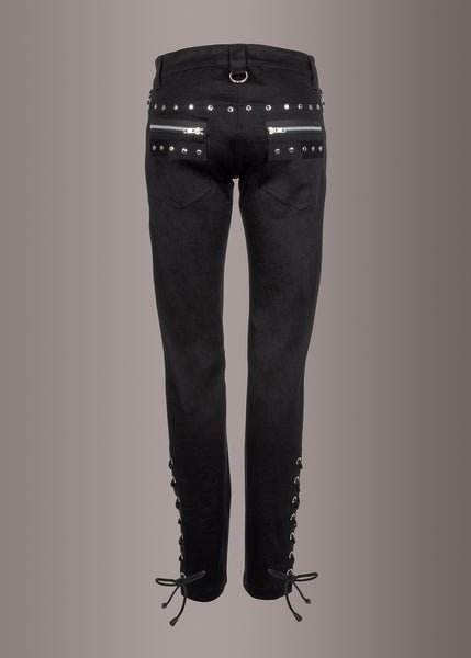 gothic pants with studs