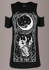black witches goth tee