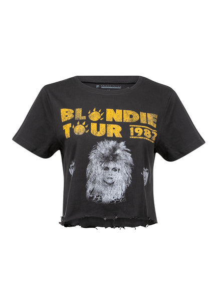 1982 tour blondie band shirt