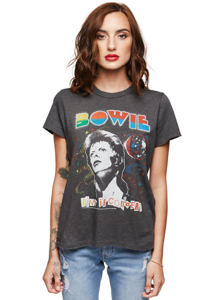 david bowie vintage band shirt