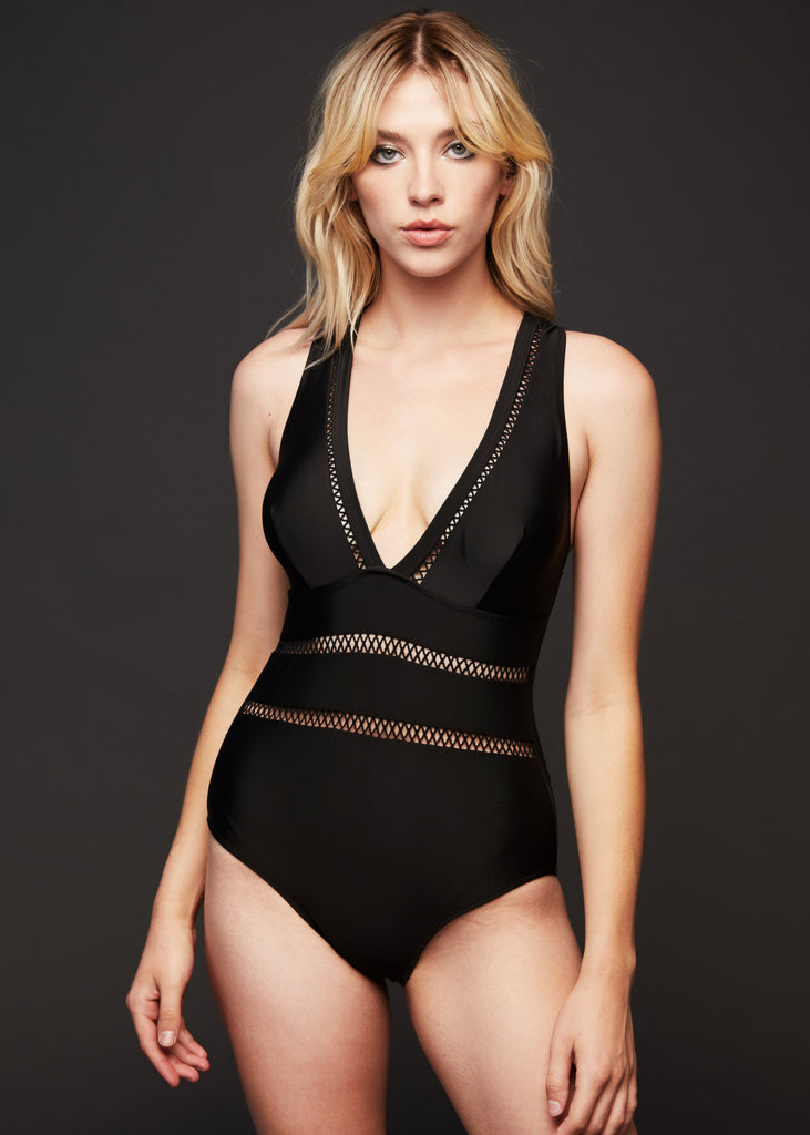 deep v swimsuit