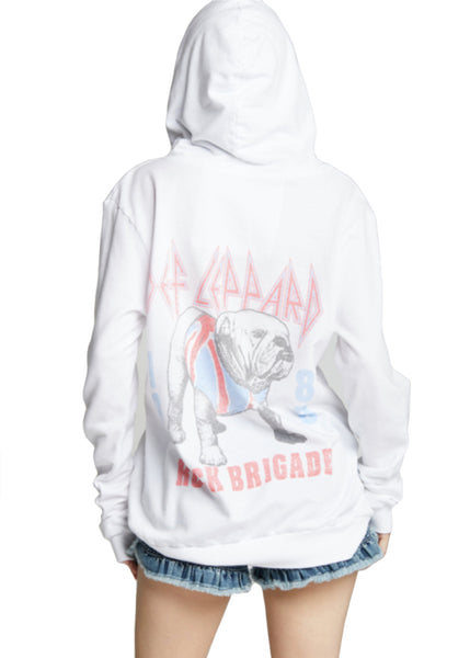 Def Leppard hooded sweatshirt