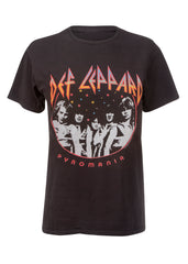 Def Leppard Pyromania Tour Band Shirt