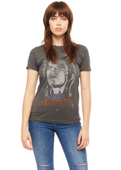 Grey womens David Bowie t-shirt