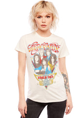 Aerosmith band tee womens