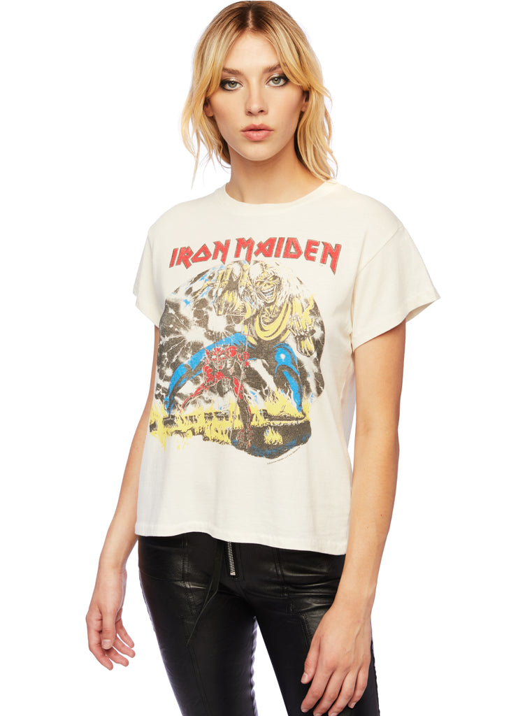 iron maiden band shirt