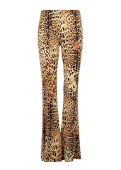 leopard print bell bottoms